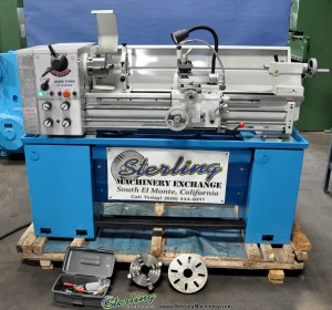 """13""""/18"""" x 40"""" New Acra Engine Lathe, Mdl. FI-1340 GSM, 3 & 4 Jaw Chuck, Faceplate, Tool Post, Work Lite, Geared Head Single Phase 220 V, 2 H. P. #A1233"""