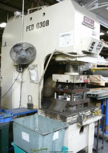 "150 Ton x 12"" Used Pacific Press Former II Hydraulic Press, Mdl. 150 PF II, Tonnage Control Valve, Remote Dual Palm Control Stand, T Slotted Bolster & Ram, 38"" x 24"" Bed (1984) #A1253"