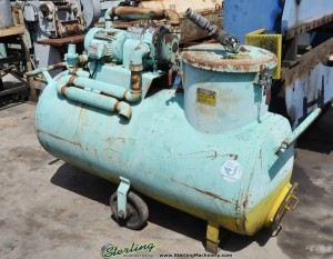 120 Gallon Used Master Chemical Yellow Belly Sump Sucker, Mdl. Blue 100 - 100 Elec, () #A1262