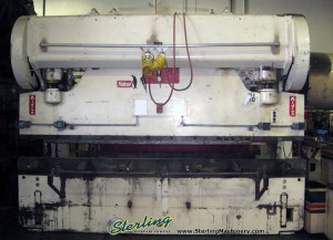 175 Ton x 12' Used Chicago Press Brake, Mdl. 175- D- 10, Power Ram Adjustment, One Shot Lube#9721
