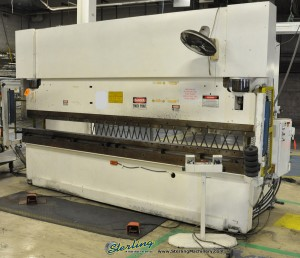 "175 Ton x 14' Used Wysong Hydraulic Press Brake, Mdl. MTH 175 - 168, Triad Light Curtains, All Above Ground, No Pit Required, Tonnage Control Valve, 150"" Between Housings (1993) #A1047"