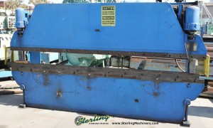 """40 Ton x 12' Used Pacific Hydraulic Press Brake, Mdl. 40- 12, Light Curtains, Tonnage Control Valve, 123"""" Between Housings #9835"""