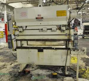 """40 Ton x 6' Used Wysong Hydra- Mechanical Press Brake, Mdl. H -4072, Light Curtains, Manual Ram Adjustment W/ Indicators, 62"""" Between Housings(1995) #A1044"""