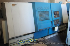 """24"""" x 64"""" Used Hes/Toyoda CNC Turning Center, Mdl. 600 HES CNC, Fanuc GN10 Controls, Programmable Hydraulic Tailstock, 15"""" 3-Jaw Chuck (Special Price) #5528"""