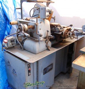 "9"" x 13"" Used Hardinge Chucker Lathe, Mdl. HC, Automatic Throwing Attachment, Collet Closer #8402"