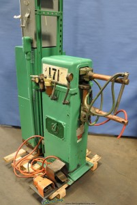"20 KVA x 12"" Used Acme Spot Welder (Rocker Arm Type), Mdl. 1-30-20, Square D Controls, Air Clamp, Electric Foot Peda, 230V Single Phase, 12"" Throat #A1336"