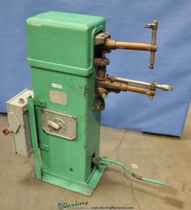 "20 KVA x 12"" Acme Spot Welder (Rocker Arm Type), Mdl. 1-12-28, Foot Pedal, 460V Single Phase, 12"" Throat #A1337"