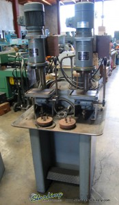 """3/16"""" x 12 SP Used Steinel Multi - Spindle Drill Presses, Mdl. BS-140, () #6172"""