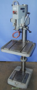 """18"""" Used Clausing Arboga Geared Head Floor Drill Press, Mdl. 2501,#9409"""