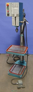 "24"" Used Arboga Geared Floor Drill Press, Mdl. A3309,Table Elevating Mechanism, Head Elevating Mechanism, Drill Chuck And Arbor#9703"