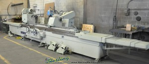 """25"""" x 120"""" Used SMTW Cylindrical Grinder, Mdl. H-163, Automatic Intermittent Feed, 4 Jaw Chuck, Work Rests, Wheel Dressers (1999) #A1349"""