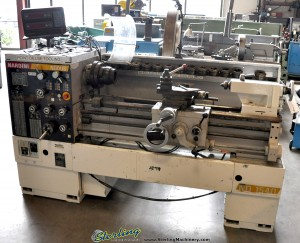 "15""/24"" x 40"" Used Nardini Engine Lathe, Mdl. ND-1540, Acurite III 2 Axis Digital Readout System, 2"" Collet Chuck With Collets, Taper Attachment, Coolant System #A1379"