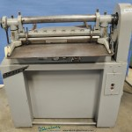 16 Ga. x 3' Used Di-Acro Power Shear, Mdl. # 36, Rear Operated Manual Back Gauge, Automatic Hold Down Bar #9854