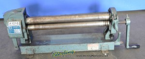 20 Ga. x 2' Used Metalex Hard Slip Roll, Mdl. FR - 52420, #A1016