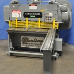 """1/4"""" x 4' Used Cincinnati Power Shear, Mdl. 1404, Front Operated Power Back Gauge W/ Indicator, Square Arm, Counter Balance #A1126"""