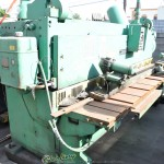 """3/8"""" x 10' Used Cincinnati Power Shear, Mdl. 2510G, Programmable Front Operated Power Back Gauge, Square Arm, Dual Counter Balance (1980) #A1151"""