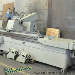 "25"" x 120"" Used SMTW Cylindrical Grinder, Mdl. H-163, Automatic Intermittent Feed, 4 Jaw Chuck, Work Rests, Wheel Dressers (1999) #A1349"