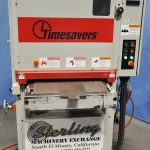 """24"""" Used Timesaver Belt Grinder, Mdl. 6025, Power Height Adjustment, Electric Eye Tracking, 10 H.P. #A1442"""