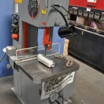 "20"" Used DoAll Vertical Bandsaw, Mdl. 2013-V, Blade Welder, Grinder, Cutoff, Mitering Attachment, Rip Fence #A1449"