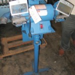 "7"" Used Dayton Pedestal Grinder With Dust Collector, Mdl. 2Z341P, () #8085"