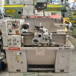 """13""""/ 19"""" x 25"""" Used Ganesh Engine Lathe, Mdl. GT-1325, Newall Topaz 2 Axis Digital Readout System, 3 & 4 Jaw Chuck, Tool Post, Coolant #A1463"""