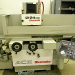 """12"""" x 24"""" Used Okamoto Automatic Surface Grinder, Mdl. ACC-1224DX, (1993) #A1506"""
