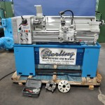 "13""/18"" x 40"" New Acra Engine Lathe, Mdl. FI-1340 GSM,3 & 4 Jaw Chuck, Steady Rest, Face Plate, Tool Post, Coolant, Brake #A1543"