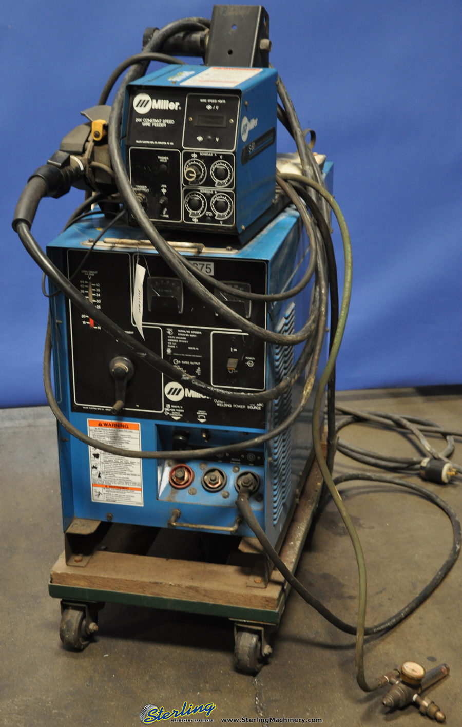 Cp300 Mig Welder Wiring Diagram Data Diagrams Century Model 20511 300 Amp Used Miller Mdl Cp 24v Wire Feeder Rh Blog Sterlingmachinery