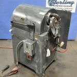 3'' Used Leonard Conrac Tube End Finisher, Mdl. 3CP-HD, Automatic Pneumatic Jaw Clamping, Automatic Power Beading Cycle, Heavy Duty Geared Manual Spindle Traverse #A1714