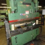 "60 Ton x 6' Used Cincinnati CNC Hydraulic Press Brake, Mdl. 60 CB II x 4, Cincinnati Proforma 2 Axis CNC Back Gauge, Light Curtains, Electric Foot Pedal, 17"" Open Height, 4'6"" Between Housing(1998) #A1652"