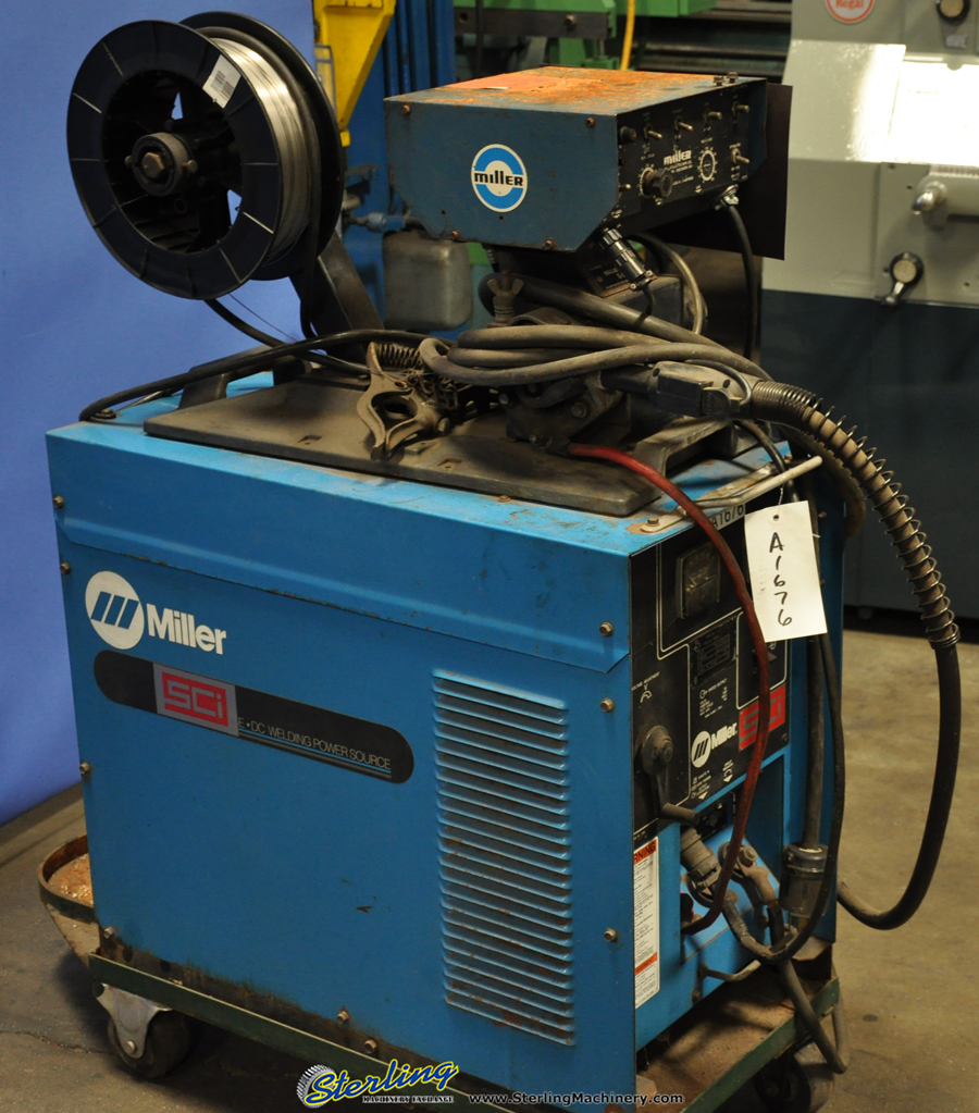 300 Amp Used Miller Mig Welder, Mdl  CP-300 | Sterling Machinery