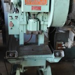 20 Ton Used Diamond OBI Punch Press, Mdl. #20, Air Clutch & Air Brake, Dual Palm Control,  #A1686