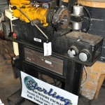 3/16'' - 5'' Used Rabbit Automatic Tube & Pipe Deburring Machine, Mdl. PC - 500, Adjustable Draw Bar Stop (Cut Length), Discharge Chip & Coolant Splash Guard, 8 Speed Transmission, Air Regulator #A1690
