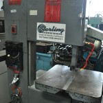 "20"" Used Powermatic Vertical Bandsaw, Mdl. 87, Blade Welder, Chip Blower, High/Low Transmission, Cut Off Tool, 24"" x 24"" Table #A1692"