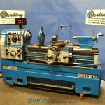 """16""""/24"""" x 40"""" Used Acra Turn Engine Lathe, Mdl. LS-400, Sargon 2 Axis Digital Readout System, Taper Attachment, 3 Jaw Chuck, Tool Post, Lever 5C Collet Closer, Coolant System #A1702"""