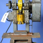 5 Ton x 1'' Used Benchmaster OBI Punch Press, Mdl. 151-E, #A1706