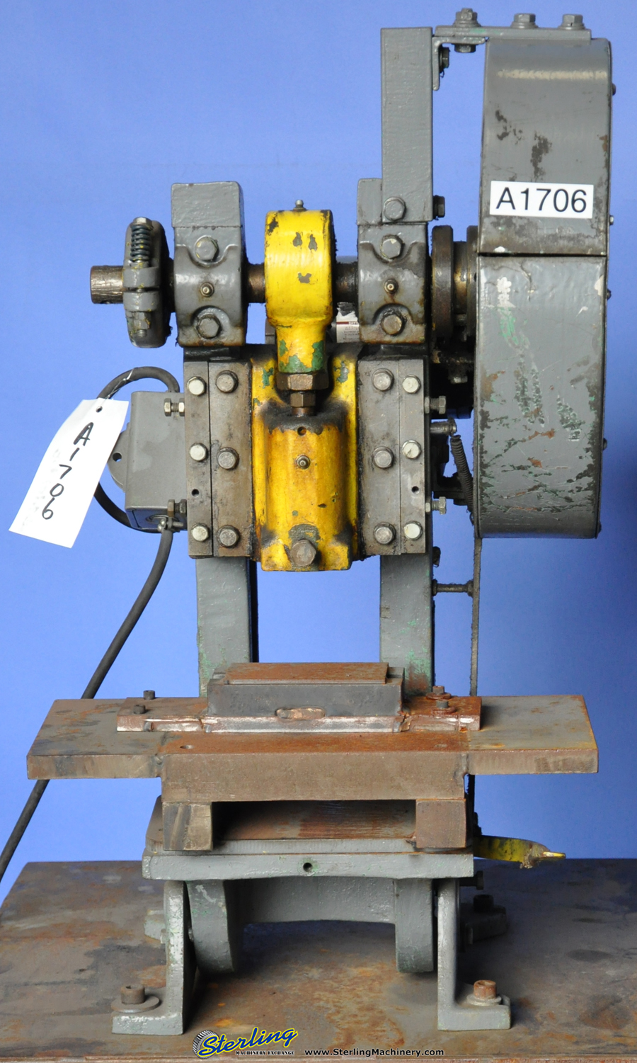 used punch press machine