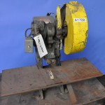 4 Ton x 1'' Used Benchmaster OBI Punch Press, Mdl. 451, Mechanical Clutch, Hand Lever Control #A1708