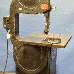 "4 Ton x 1"" Used Benchmaster OBI Punch Press, Mdl. 452, Mechanical Clutch, Hand Trip Lever#9504"