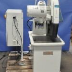 """22"""" Used Stone Abrasive Cut Off Saw, Mdl. M160, 2100 RPM, Allen Bradley Variable Speed Control, Electric Brake, 15 H.P. #A1377"""