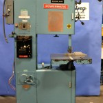 20'' Used Powermatic Vertical Bandsaw, Mdl. 87, Blade Welder, Grinder, Cut Off, High/Low Transmission #A1572