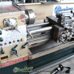 """15"""" x 50"""" Used Turnmaster Engine Lathe, Mdl. 1550, 3 Jaw Chuck, Lever 5C Collet Closer, Steady Rest, Drill Chuck, Coolant, 2"""" Bore #A1619"""