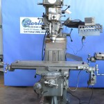 """9"""" x 42"""" Used Lagun Vertical Mill, Mdl. FT-1, Mitutoyo 2 Axis Digital Readout System, Table Power Feed, One Shot Lube System, Coolant System #A1620"""