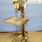 "25"" Used Boice Crane Floor Drill Press (Geared), Mdl. 24200, Ball Bearing Drill Chuck, #3MT, 1.5 H.P. #A1623"