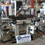 "12"" x 24"" Used Kent Automatic Surface Grinder, Mdl. KGS-306AHD, 12"" x 24"" Electro Magnetic Chuck W/ Variable Control, Parallel Dresser, Coolant System, Splash Guard, Auto Lube System, Year (1989) #A1624"