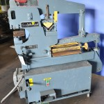 """40 Ton Used Scotchman Hydraulic Ironworker, Mdl. 4014C, 1"""" x 1/2"""" Material, Punching, Shear 3/16"""" x 14"""", Angle Shear 3"""" x 3"""" x 5/16"""", Foot Pedal#A1627"""