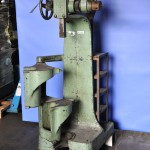 15 Ton Used Atlas Compound Ratchet Arbor Press, Mdl. #5, 2 Swing Out Tables #A1630