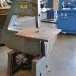 "24"" Used Lockformer Vertical Bandsaw, Mdl. 245, 24"" x 24"" Table Depth Throat #A1723"