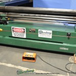 12 Ga. x 6' Used Waldemar Power Roll B Series Initial Pinch Power Roll, Mdl. B-5-72, Cone Rolling Attachment, Powered Beding Roll Adjustment, AMERICAN MADE Year (2002) #A1734