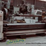 """40""""/48"""" x 200"""" Used Birmingham Engine Lathe, Mdl. DL - 40, 25"""" 4 Jaw Chuck, Steady Rest, Face Plate, Coolant, Rapid Traverse on Carriage & Cross Slide #A1127"""